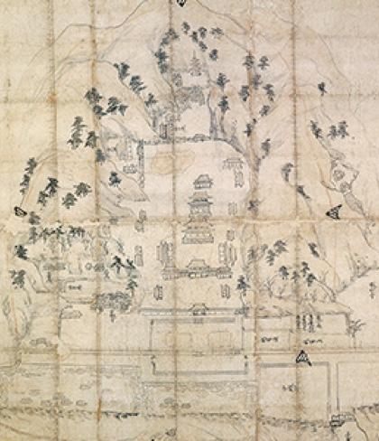 円覚寺境内図