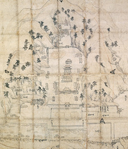 OLD ENGAKUJI TEMPLE's MAP