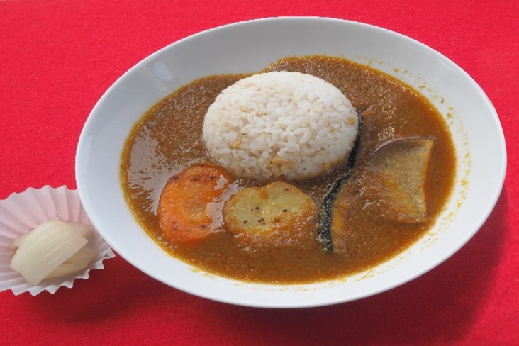 BENTEN vegetable curry rice